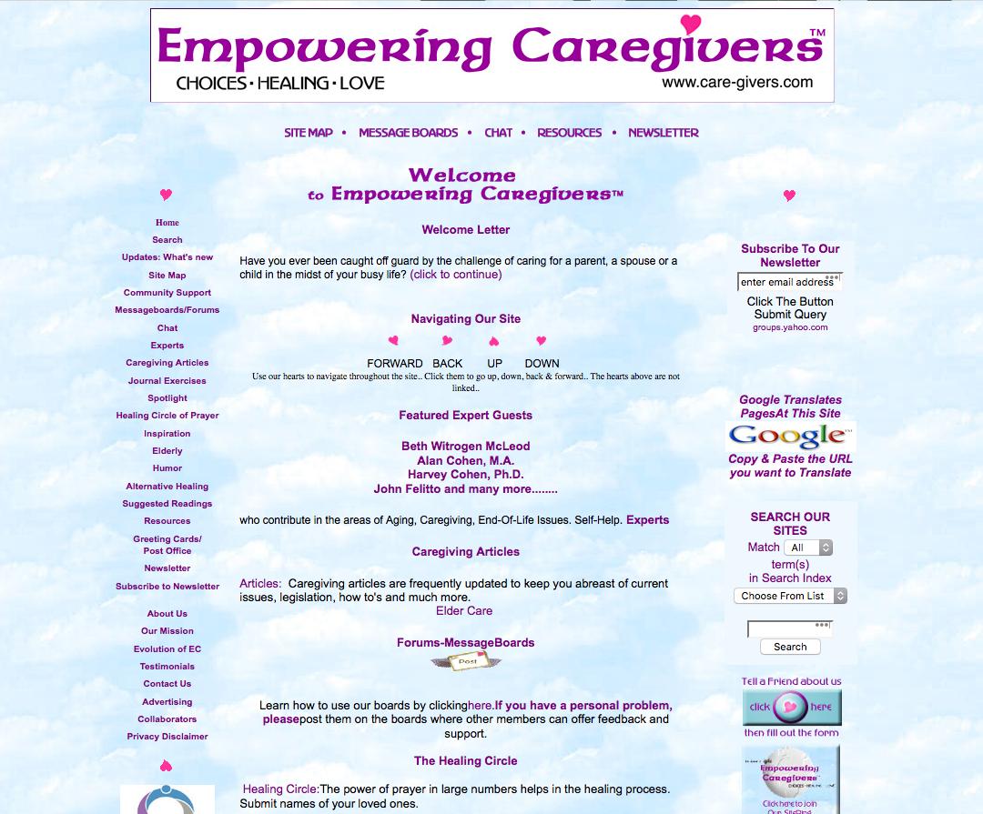 Empowering Caregivers