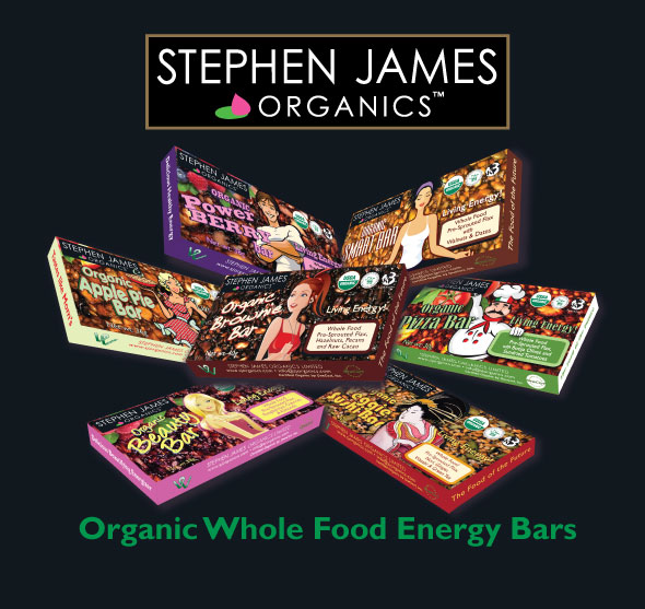 Stephen James Organics ad