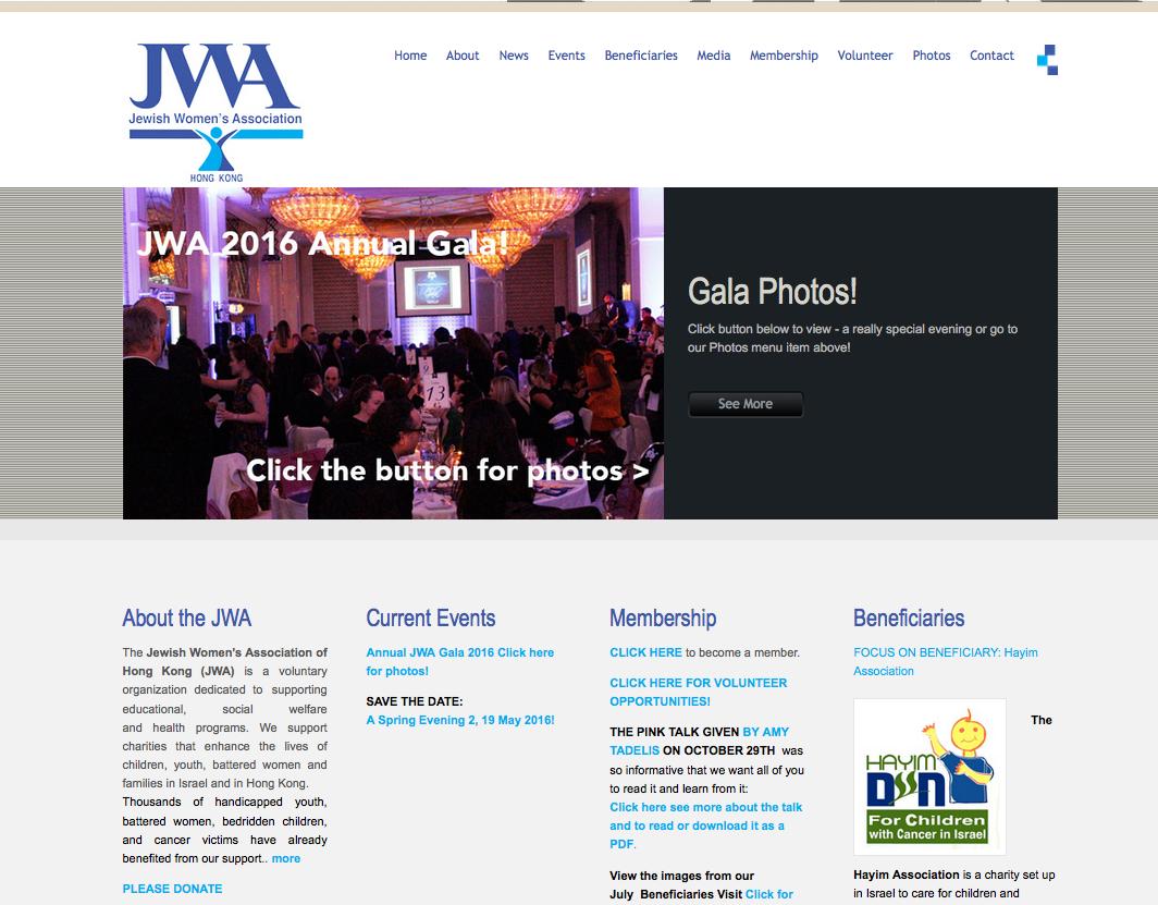 Jewish Women's Association Hong Kong