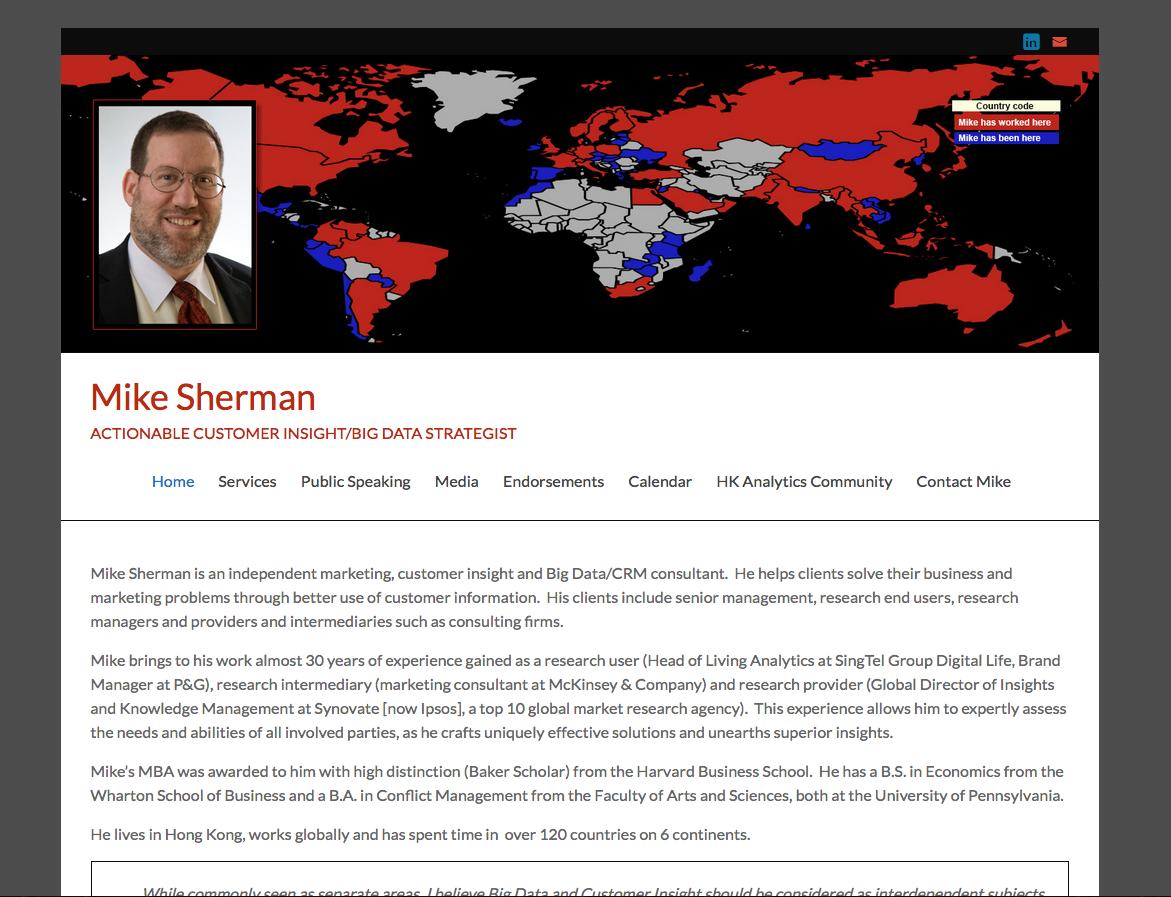 Mike Sherman - Strategist