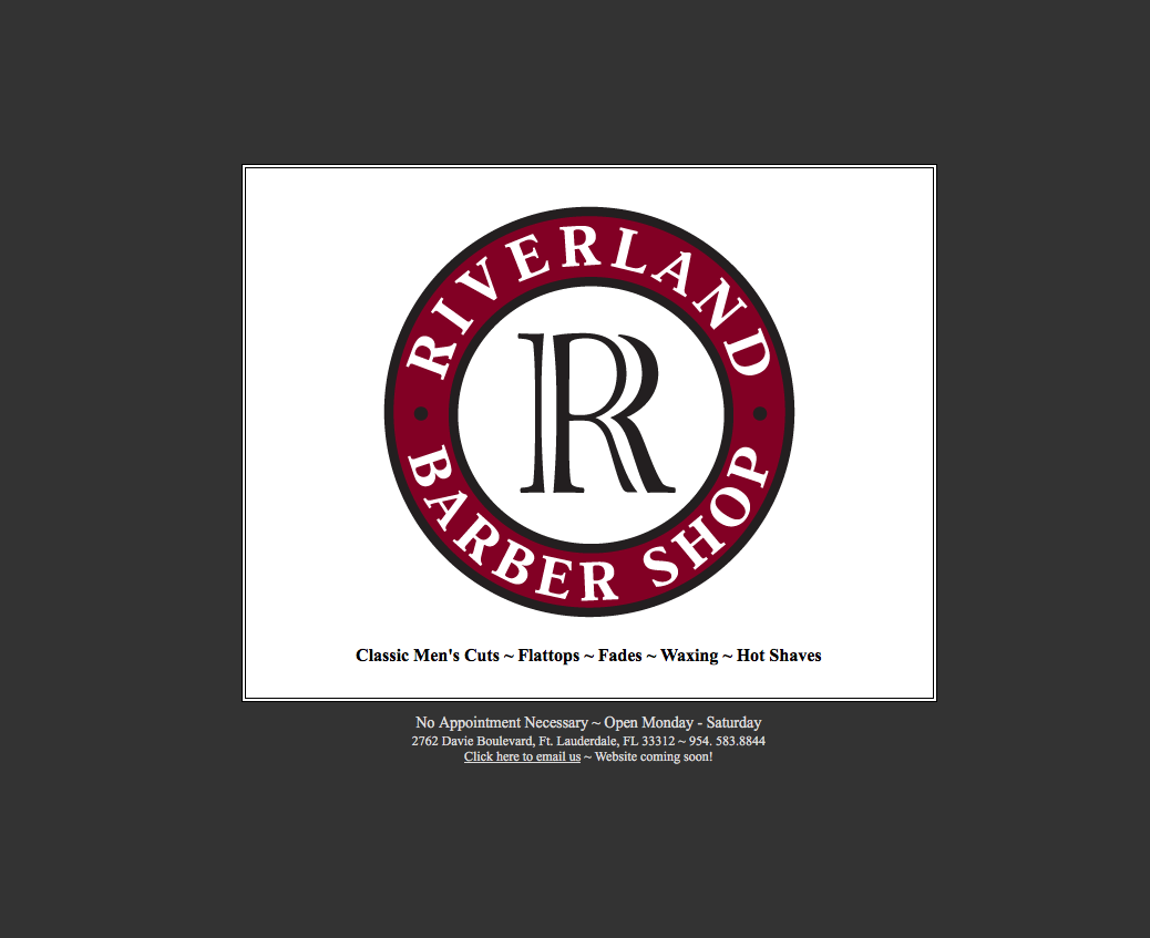 Riverland Barber Shop