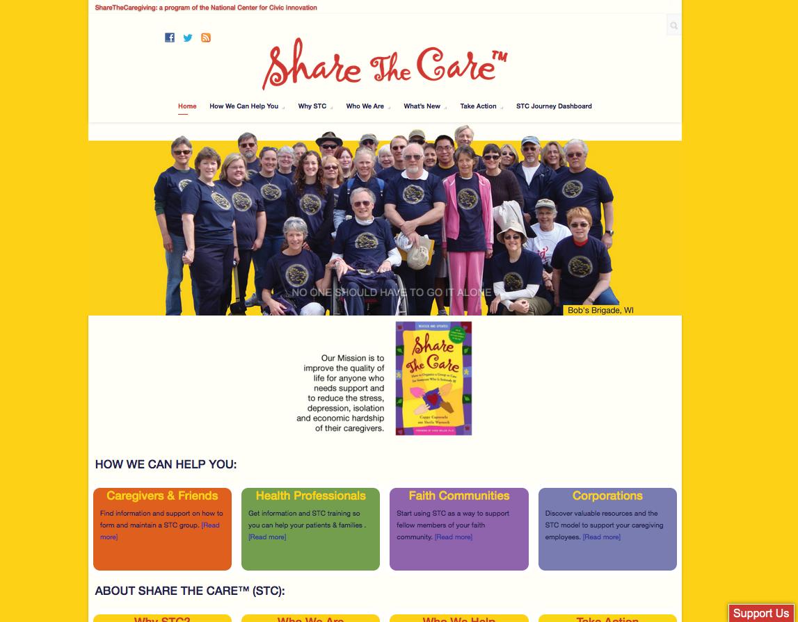 ShareTheCaregiving, Inc / STC