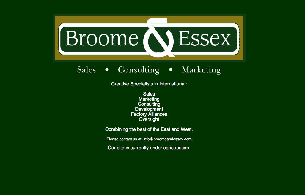 Broome & Essex Consulting